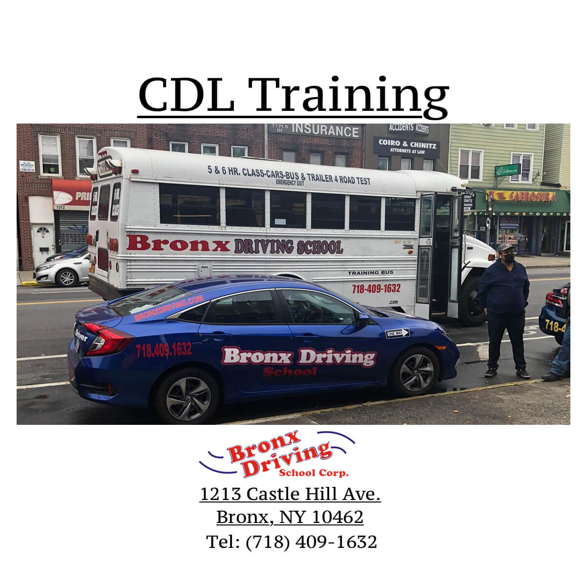 Bronx Driving School CDL Training