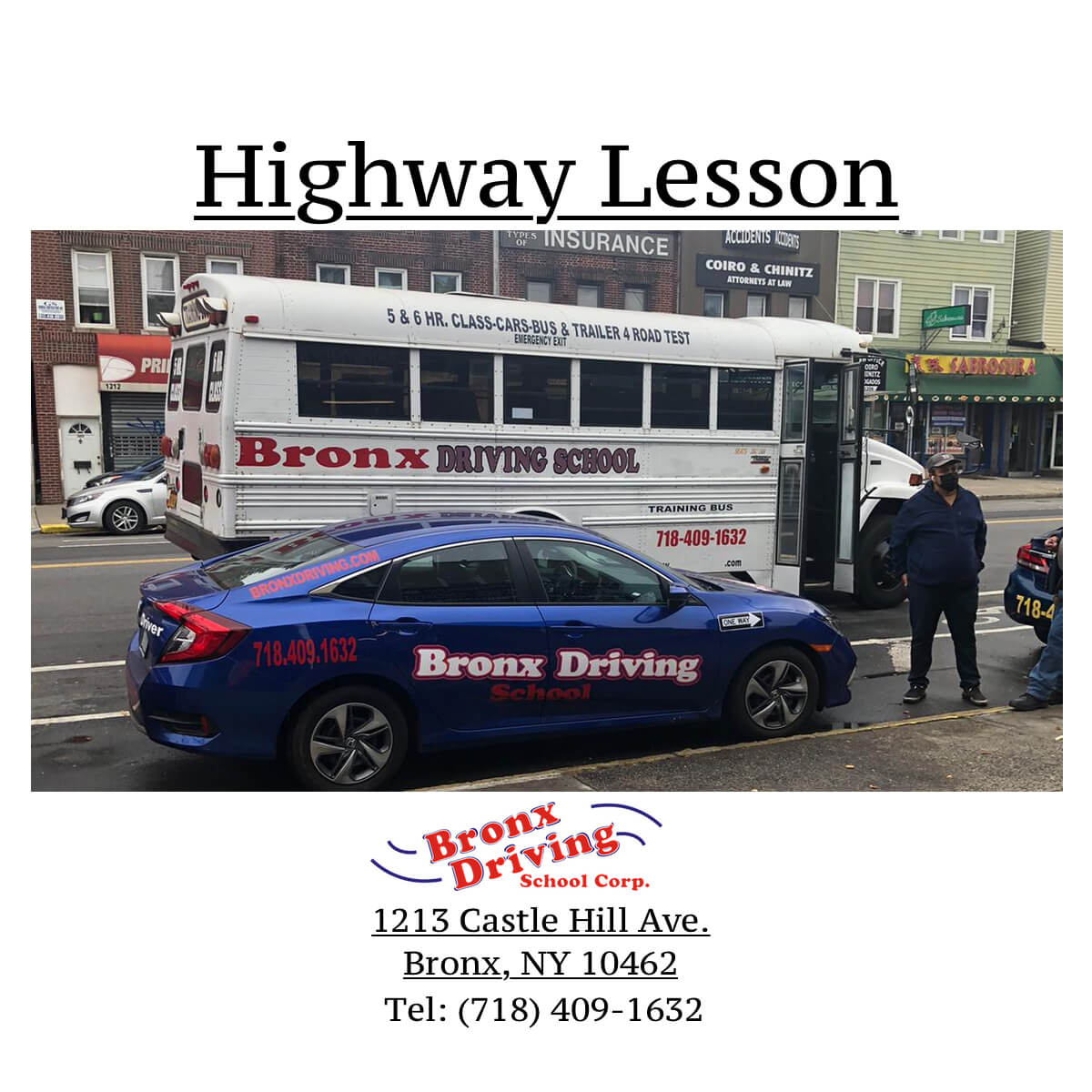 Bronx Driving School Highway Lesson