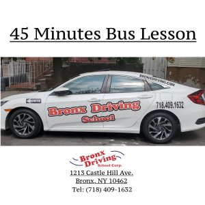 Bronx Driving School 45 Minutes Bus Lesson