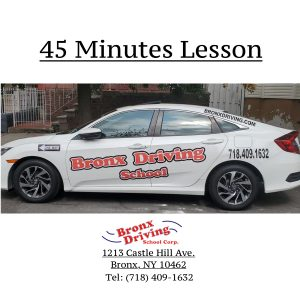 Bronx Driving School 45 Minutes Lesson
