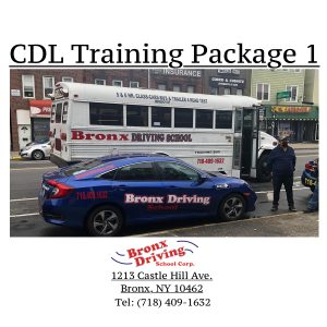 Bronx Driving School CDL Training Package 1