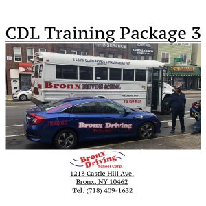 Bronx Driving School CDL Training Package 3
