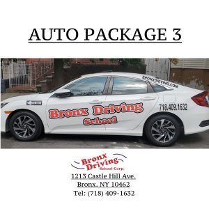 Bronx Driving School Package 3 (Auto)