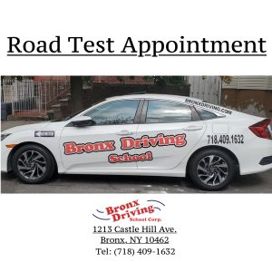 Bronx Driving School Road Test Appointment